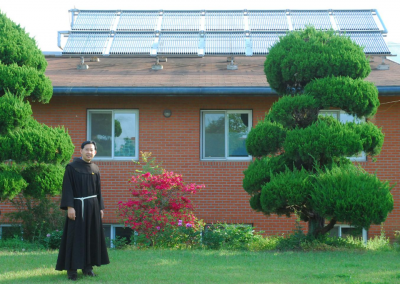 Energy Transition Projects at the Fraternity in Jangsung, Korea