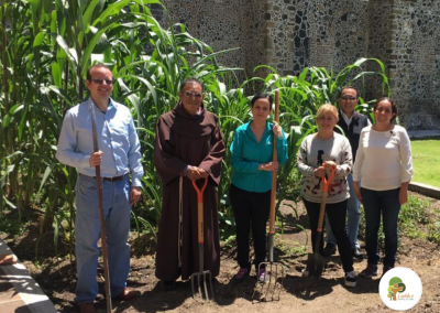 Urban gardening, Franciscan presence for the Laudato Si' Lifestyle Change